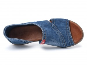 Denim dames sandalen 44C-204